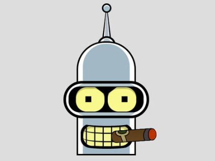 Pure CSS3 Bender Futurama