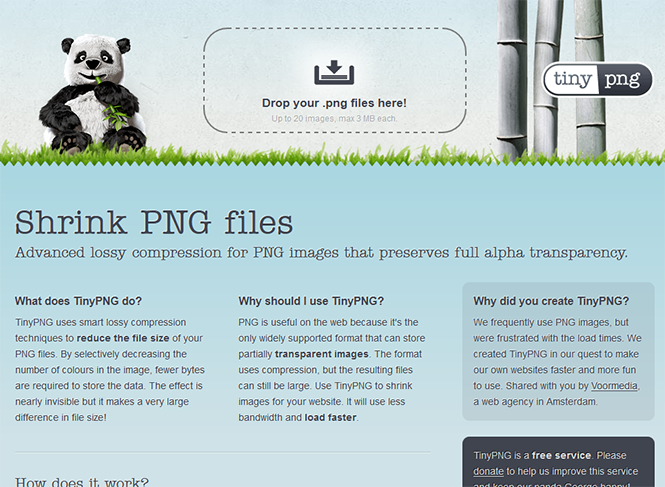 TinyPng - Shrink PNG Files