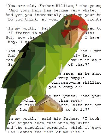 CSS Triangular Parrot